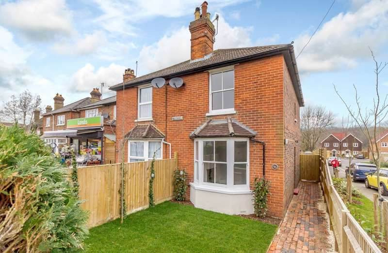 2 Bedrooms Semi Detached House for sale in New Road, Chilworth, Guildford, GU4