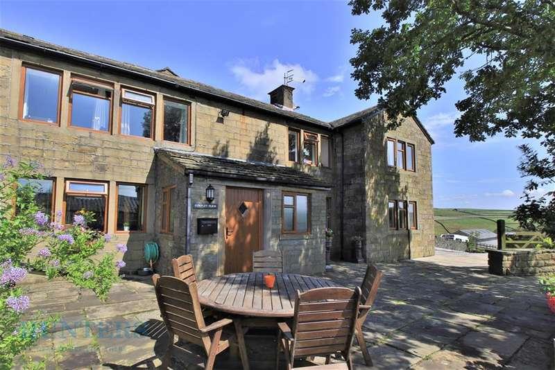 4 Bedrooms Farm House Character Property for sale in Gorpley Farm, Gorpley lane, Todmorden. OL14 7HU