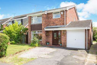 4 Bedrooms Detached House for sale in Fields Drive, Sandbach, Cheshire