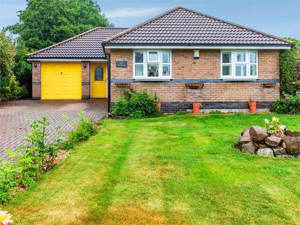 3 Bedrooms Detached Bungalow for sale in Astill Close, Ratby, Leicester