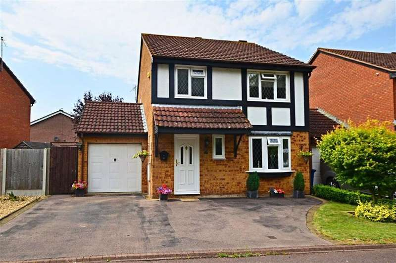 4 Bedrooms Detached House for sale in Buckingham Drive, Churchdown