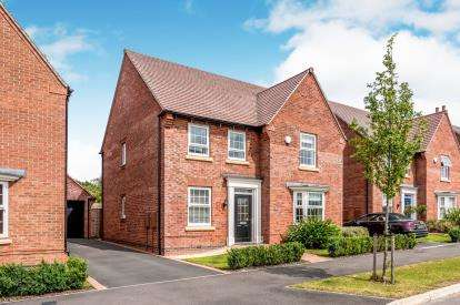 4 Bedrooms Detached House for sale in Galloway Road, Drakelow, Burton On Trent, South Derbyshire