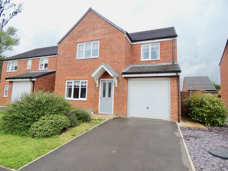 4 Bedrooms Detached House for sale in Grindleford Place, Warrington, Cheshire, WA1