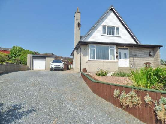 3 Bedrooms Detached House for sale in Causewayend Crescent, Aberchirder, Aberdeenshire, AB54 7TF