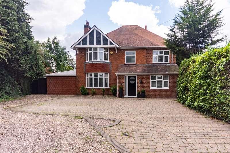 5 Bedrooms Detached House for sale in Burton Road, Alrewas, Burton-on-Trent, DE13