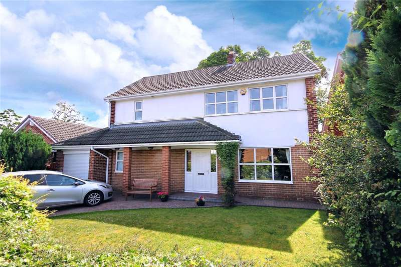 4 Bedrooms Detached House for sale in Hermitage Park, Chester Le Street, County Durham, DH3