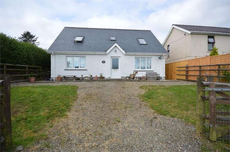3 Bedrooms Detached Bungalow for sale in High View, Tegryn, Llanfyrnach, Pembrokeshire