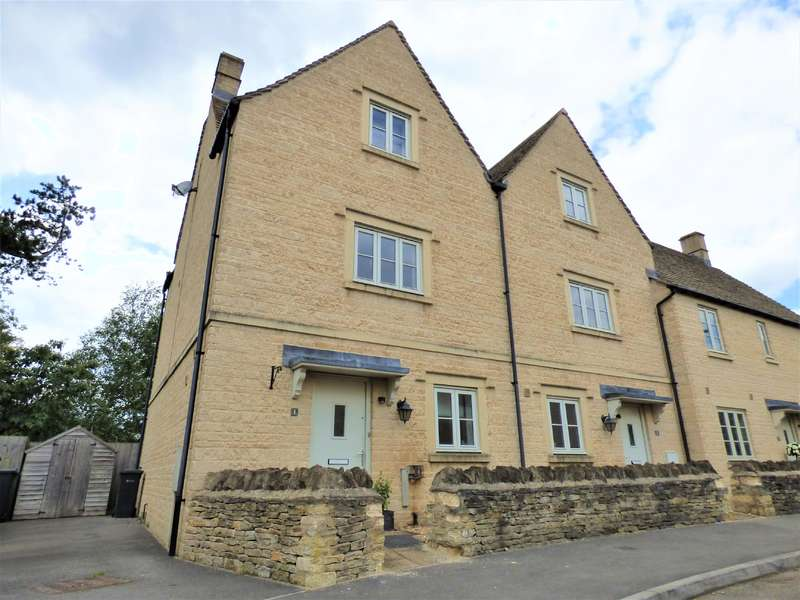 4 Bedrooms Semi Detached House for sale in Old Manor Gardens, Kemble, Kemble, Gloucestershire