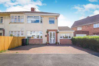 3 Bedrooms Semi Detached House for sale in Tudor Road, Hanham, Bristol, South Gloucestershire