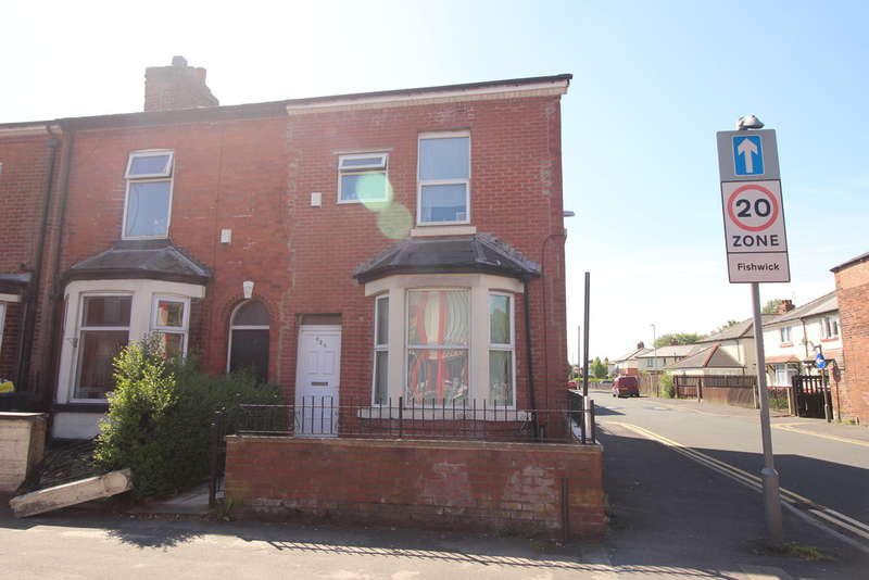 4 Bedrooms End Of Terrace House for sale in New Hall Lane, Preston