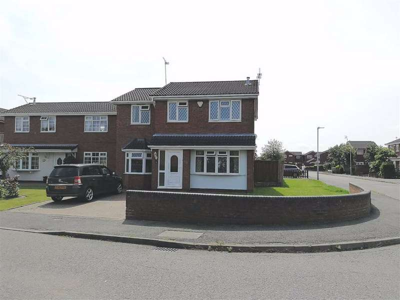 4 Bedrooms Detached House for sale in Haweswater Ave, Coppenhall, Crewe