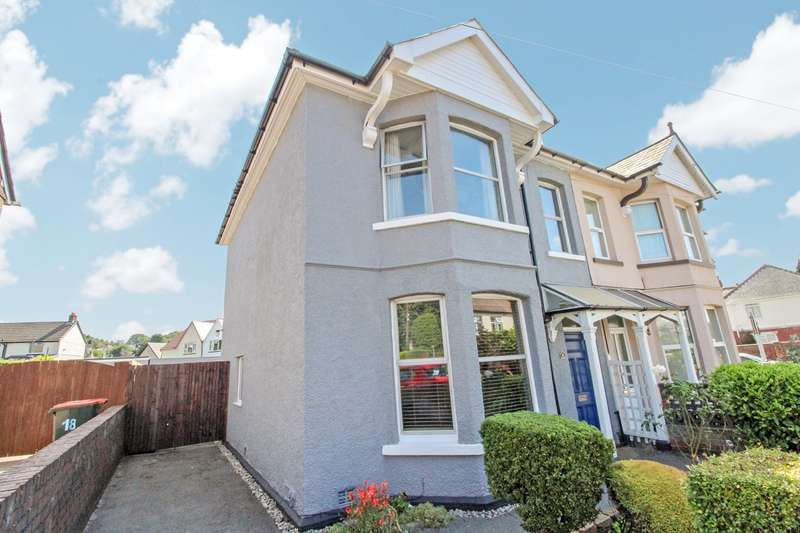4 Bedrooms Semi Detached House for sale in St Johns Crescent, Rogerstone, Newport, NP10