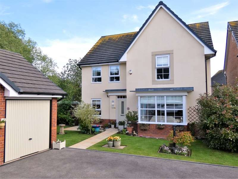 4 Bedrooms Detached House for sale in Wood Farm Close, Chester, Cheshire, CH2