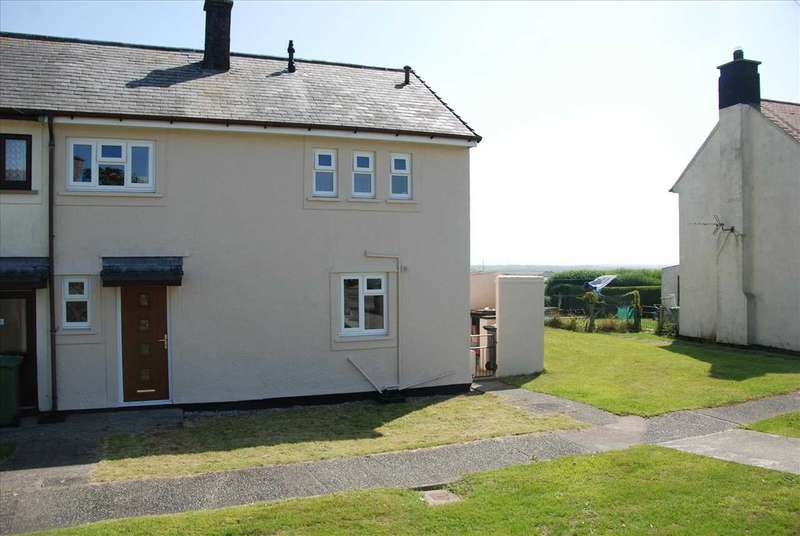 3 Bedrooms End Of Terrace House for sale in Minffordd Road, Caergeiliog
