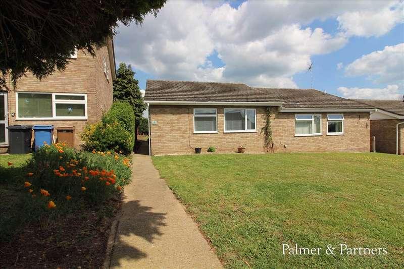 2 Bedrooms Semi Detached Bungalow for sale in Welhams Way, Brantham