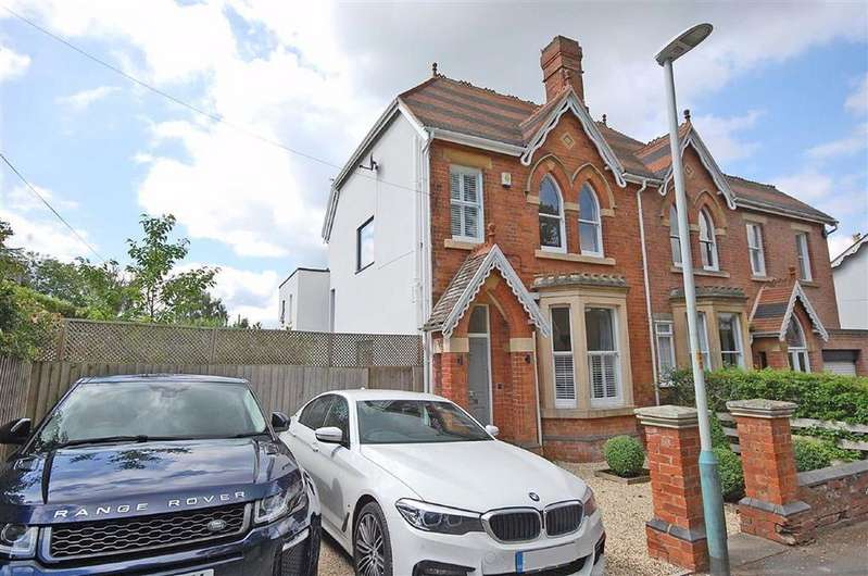 4 Bedrooms Semi Detached House for sale in Ryeworth Road, Charlton Kings, Cheltenham, GL52