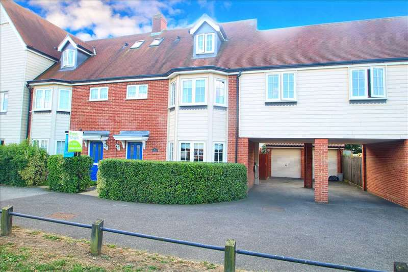 4 Bedrooms Link Detached House for sale in Weyland Drive, Stanway, Colchester