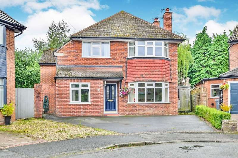 4 Bedrooms Detached House for sale in Finney Close, Wilmslow, SK9
