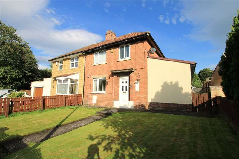 3 Bedrooms Semi Detached House for sale in Rosedale Avenue, Consett, County Durham, DH8