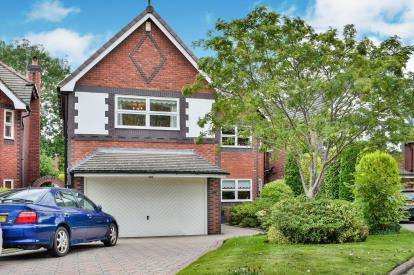 5 Bedrooms Detached House for sale in Burnside, Hale Barns, Altrincham, Greater Manchester
