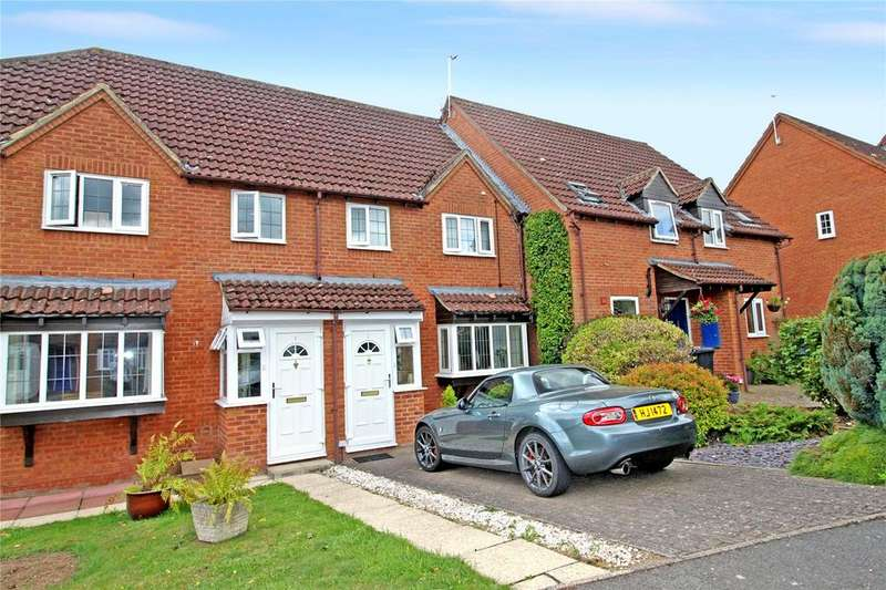 3 Bedrooms Terraced House for sale in Russett Way, Newent, Gloucestershire, GL18