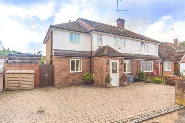 4 Bedrooms Semi Detached House for sale in Warwick Road, Ash Vale, Hampshire