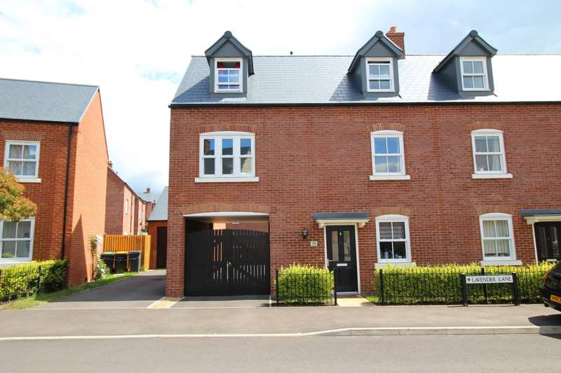 4 Bedrooms Semi Detached House for sale in Lavender Lane, Great Denham, Bedford, Bedfordshire, MK40