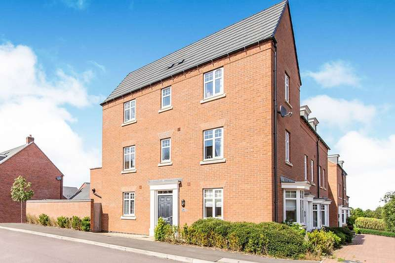 4 Bedrooms Link Detached House for sale in Olympic Way, Hinckley, Leicestershire, LE10