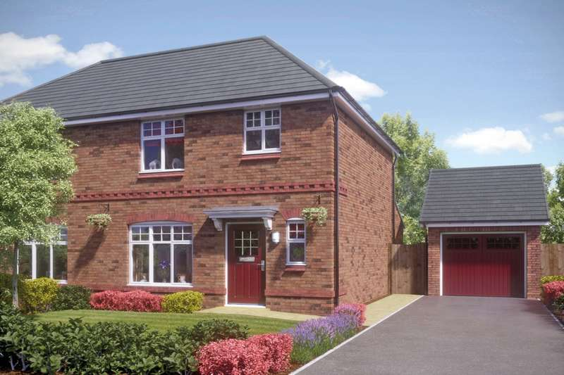 3 Bedrooms Semi Detached House for sale in The Coniston Stanbury Avenue, Wednesbury, West Midlands, WS10