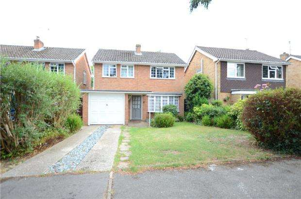 3 Bedrooms Detached House for sale in Woburn Close, Caversham, Reading