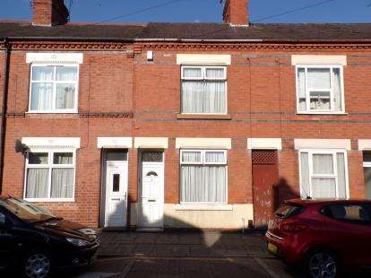 2 Bedrooms Terraced House for sale in Tudor Road, Leicester, Leicestershire