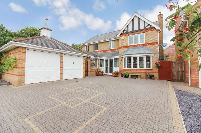 4 Bedrooms Detached House for sale in Priory Drive, Langstone, Newport, NP18