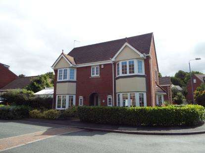 4 Bedrooms Detached House for sale in Cavell Road, Burntwood, Staffordshire