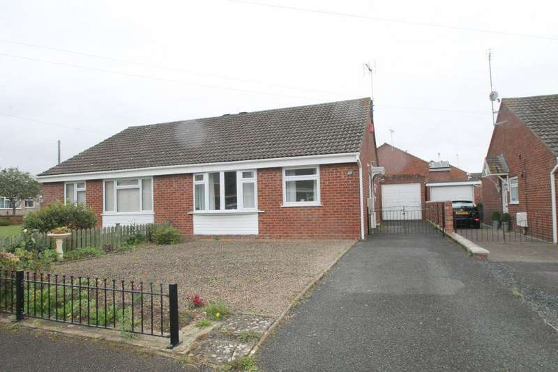 2 Bedrooms Bungalow for sale in Churchill Grove, Newtown, Tewkesbury