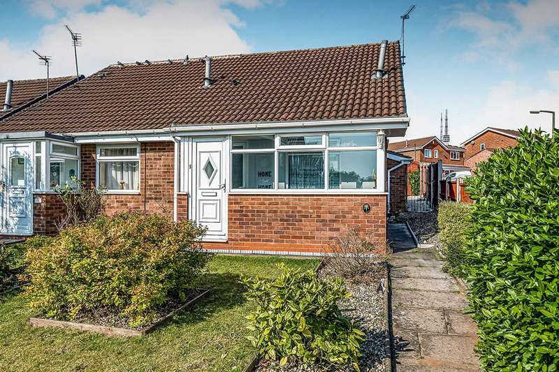 1 Bedroom Semi Detached Bungalow for sale in Falfield Close, Rowley Regis, West Midlands, B65
