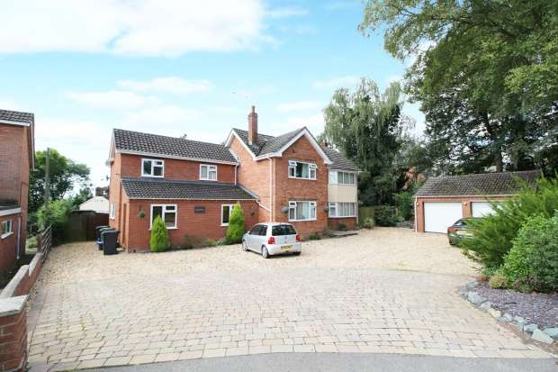 4 Bedrooms Detached House for sale in Harmer Hill, Shrewsbury, Shropshire, SY4 3EE