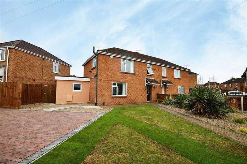 3 Bedrooms Semi Detached House for sale in Innsworth Lane, Churchdown