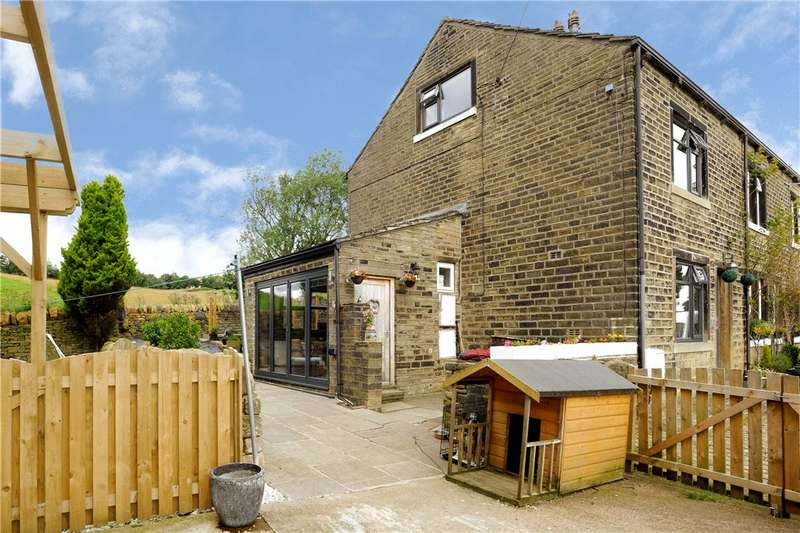 2 Bedrooms Barn Conversion Character Property for sale in Upper Deerplay, Mill Bank, Sowerby Bridge, West Yorkshire