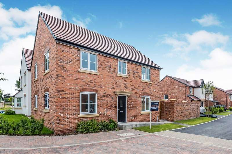 4 Bedrooms Detached House for sale in Severn Way, Holmes Chapel, Crewe, Cheshire, CW4