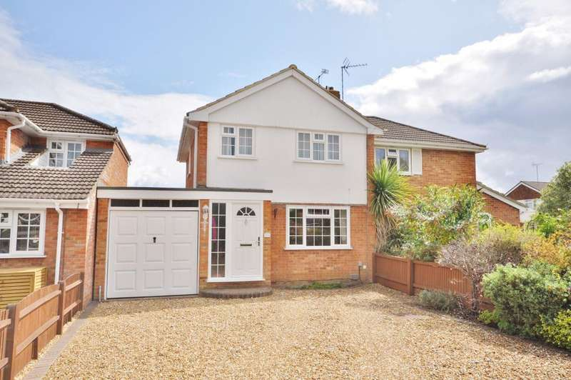 3 Bedrooms Semi Detached House for sale in Cartmel Drive, Reading. Woodley, RG5 3NQ