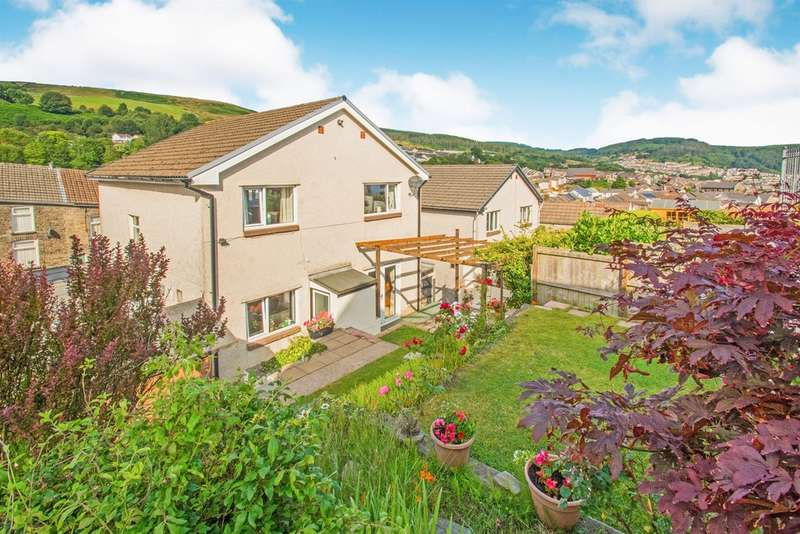 4 Bedrooms Detached House for sale in Amos Hill, Tonypandy