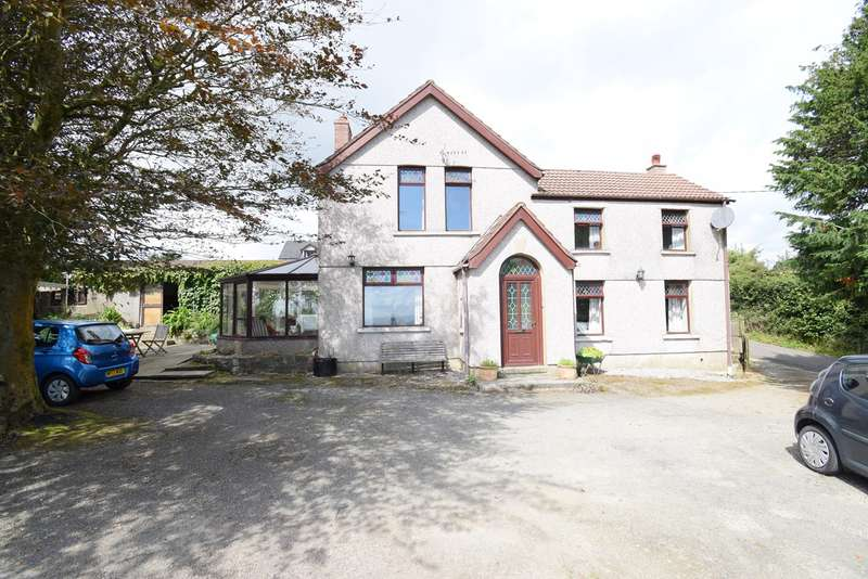 4 Bedrooms Farm House Character Property for sale in Penyrheol, Pontypool, NP4