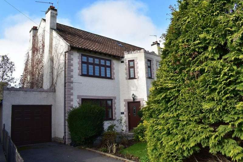 3 Bedrooms Semi Detached House for sale in Bromley Heath Road, Bristol