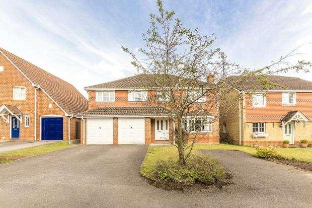 5 Bedrooms Detached House for sale in Sheridan Close, Aldershot, Hampshire