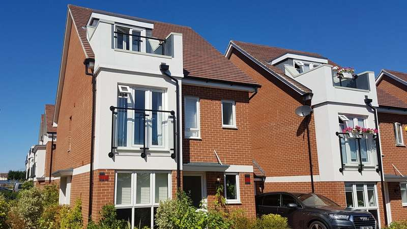 4 Bedrooms Detached House for sale in Horsley Road, Maidenhead, SL6