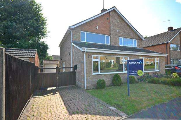 3 Bedrooms Semi Detached House for sale in Heron Close, Ascot, Berkshire
