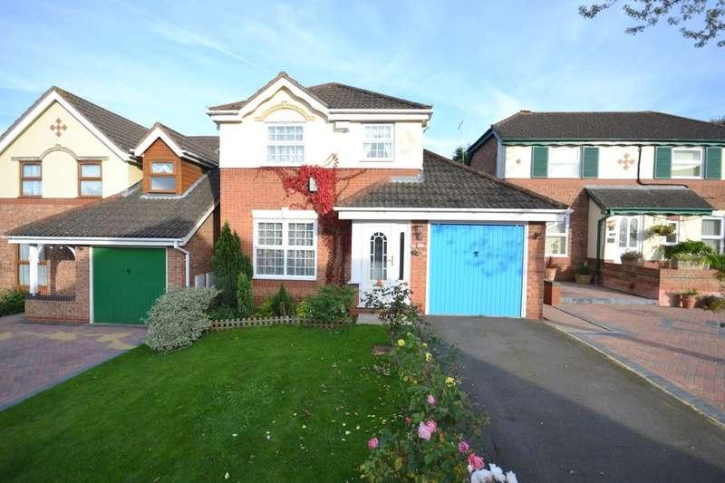 3 Bedrooms Detached House for sale in Buchanan Close, Sandringham Gardens, Northampton, NN4