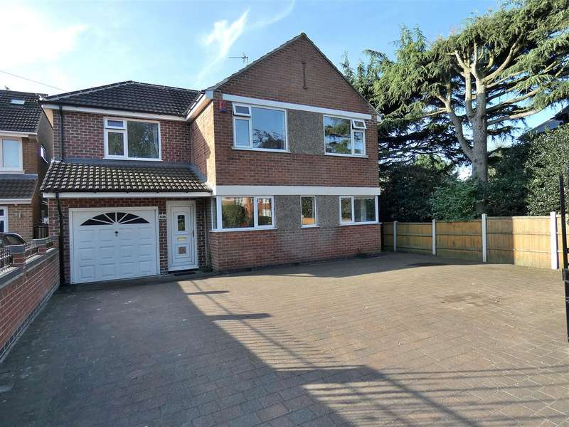 5 Bedrooms Detached House for sale in Wilsthorpe Road, Breaston