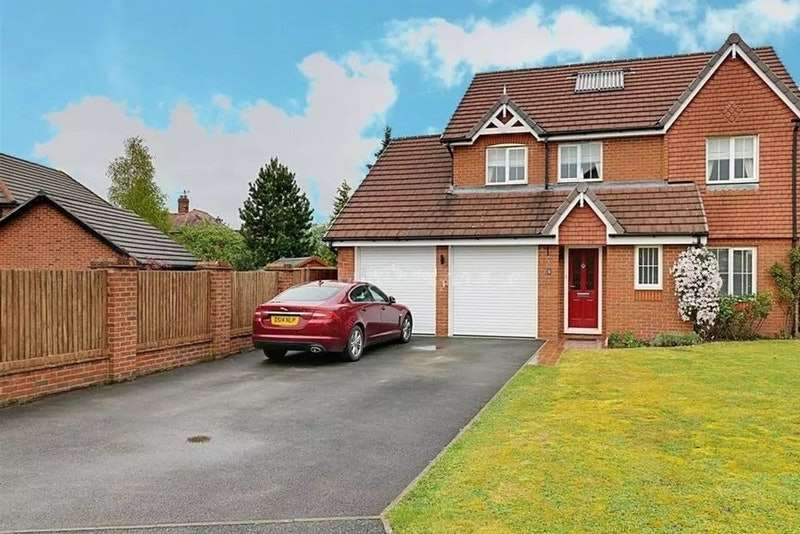 4 Bedrooms Detached House for sale in Kensington Drive, Nantwich, Cheshire, CW5