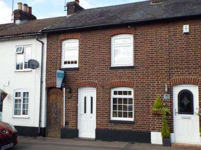 3 Bedrooms Terraced House for sale in Front Street, Slip End, Bedfordshire, England
